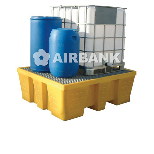 polyethylene (PE) containment sumps for kegs and cisterns